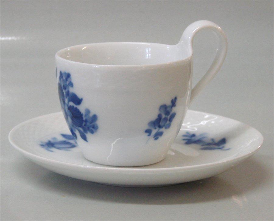 blå blomst porcelæn