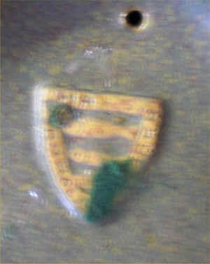 Fisk 3 keramik stempel Det drejer